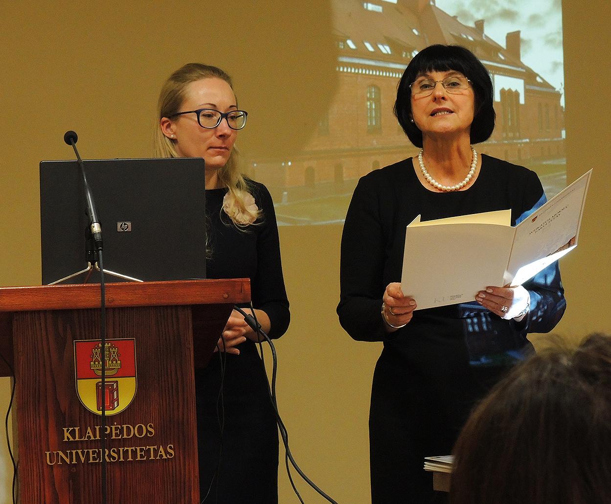 Звание Почетного доктора ЛХА – профессору Клайпедского Университета Элвира Ациене